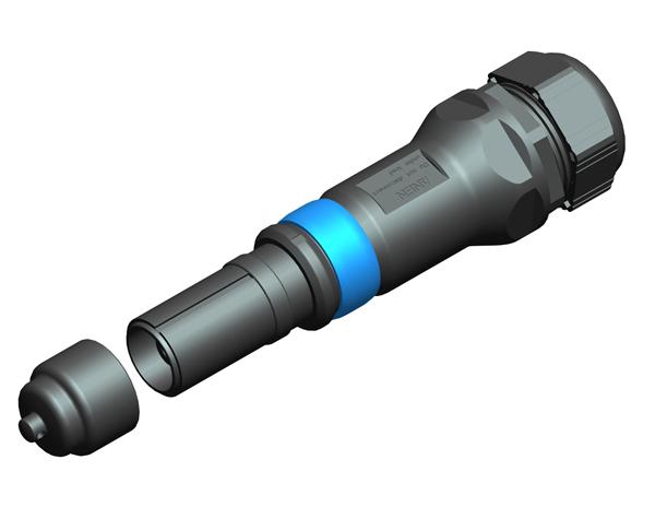 Anen Round Industrial Connector KST21/M40/150-C