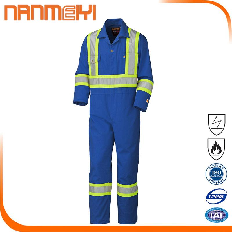 Safety Flame Retardant Coverall High Vis Workwear