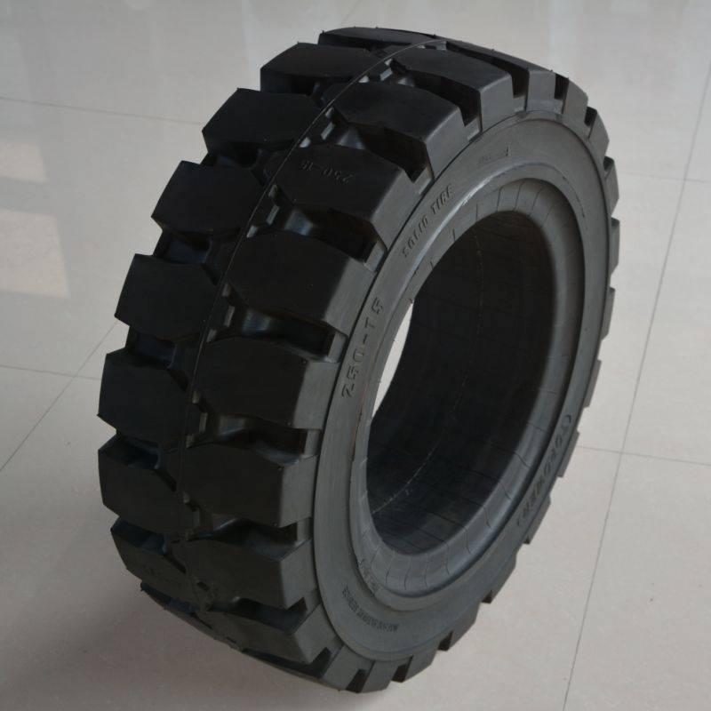 truck forklift steering wheels 250-15/7.50 for platform lift