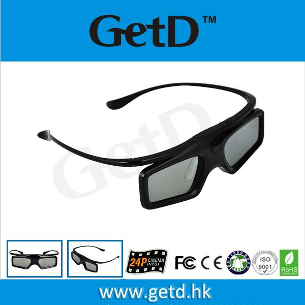 Universal Active Shutter 3D Glasses with IR Technology GT900