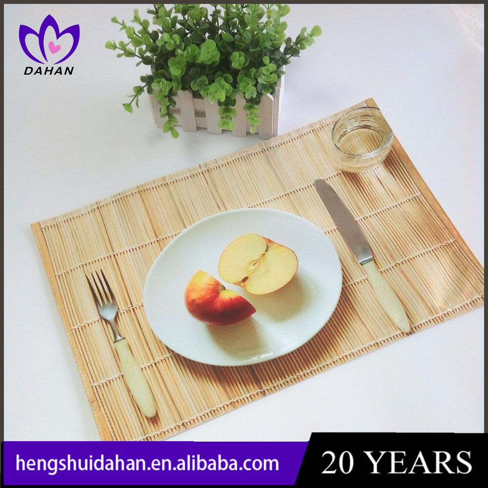 100% cotton digital photo printed placemat