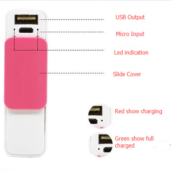 New fashion move power charger with keychain for Samsung
