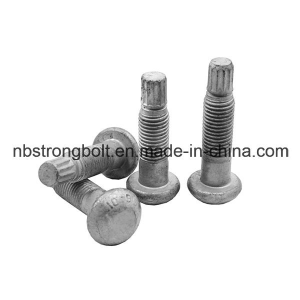 Twist off Type Tension Control Structual Bolt with Heavy Hex Head and Round Head Configurations ASTM