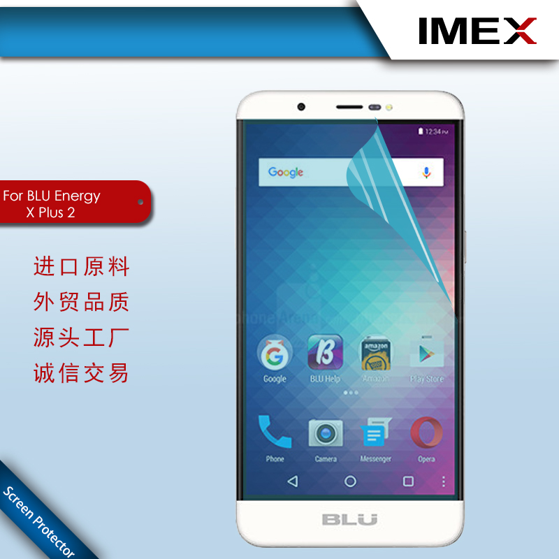 Screen protector and Tempered Glass for BLU Energy X Plus 2
