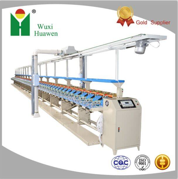 Spandex doubling winder machine HW368A