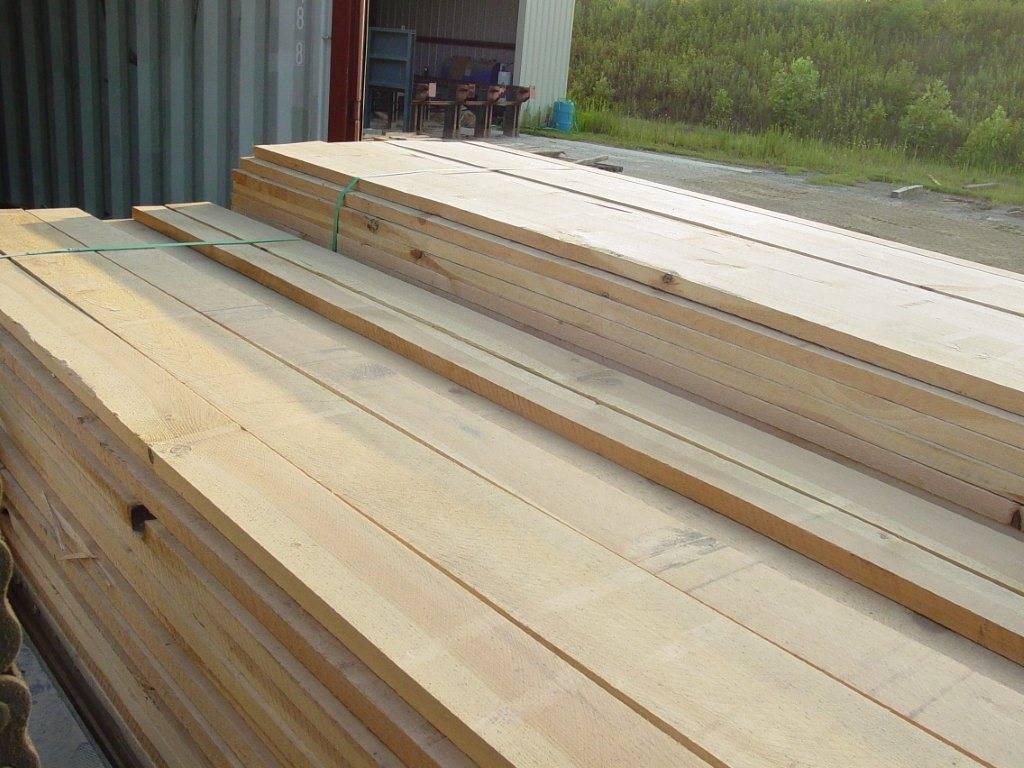 S2S S4S european oak plank panel sawn timber beech