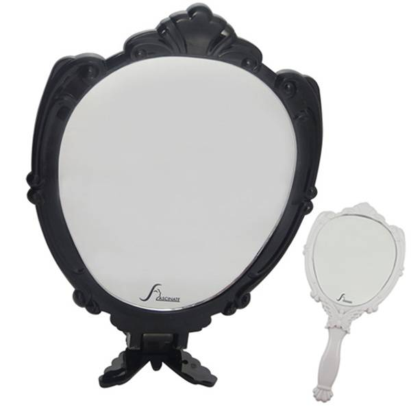 Hand Mirror Designed as Promotional Compact Mirrors, Manufactured by Experienced Manufacturer