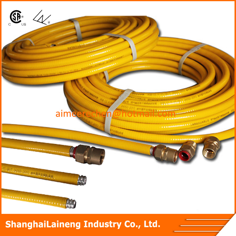 flexible stainless steel lpg gas line