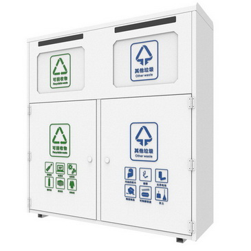80L solar trash bin ODM service from Chinese product research and development company