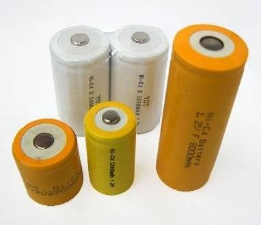 High Capacity Ni-CD D battery with 5000mAh