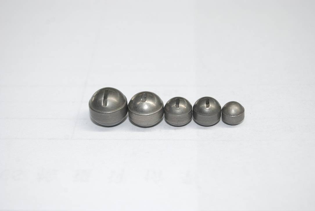 Tungsten alloy round drop sinkers