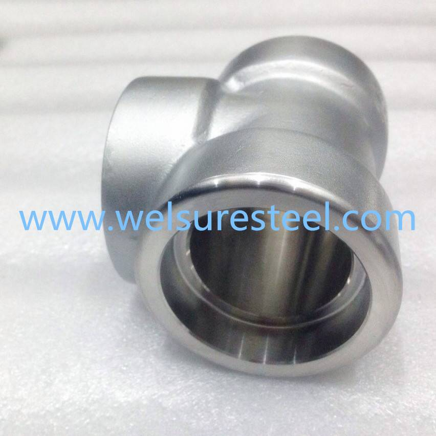 Supply Duplex Stainless Steel S31500. S31803. S32304. S32205. S32760. S32750 Socket Tee