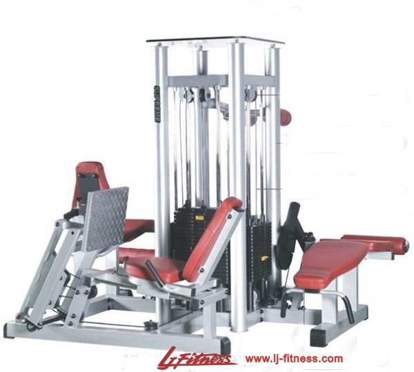 Deluxe 4 Multistations Fitness Equipmentt (LJ-5904A)