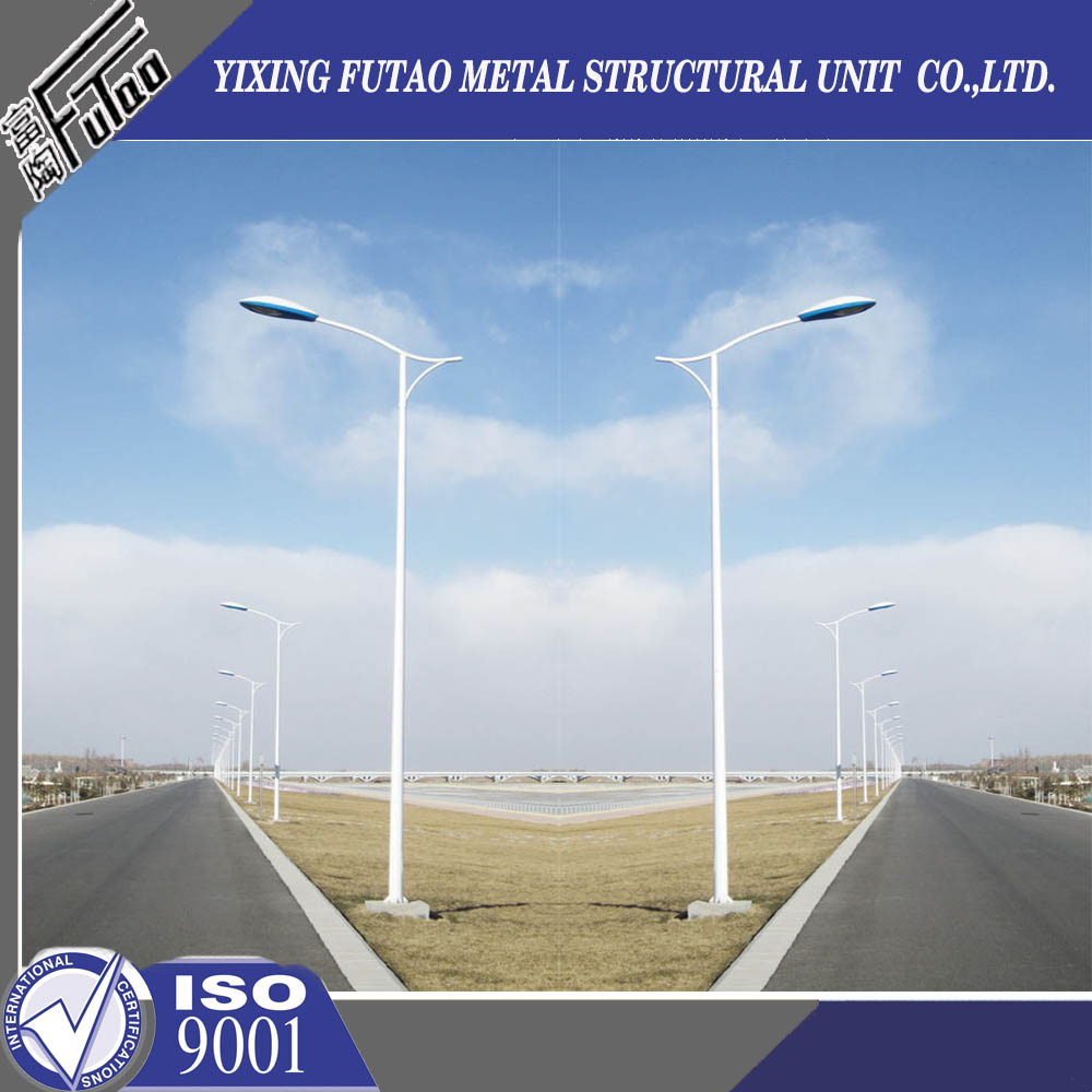 highway steel lighting pole