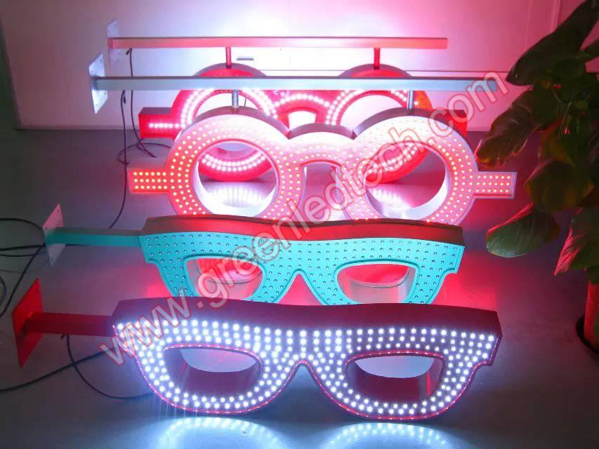 LED Optic Sign