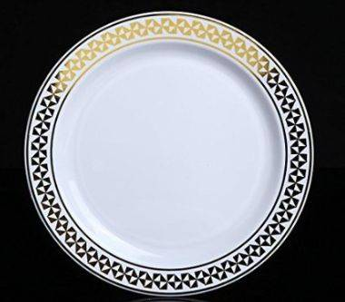 Plastic Wedding Plate