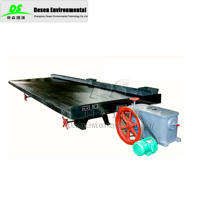 DESEN machinery shaking table chrome ore processing plant