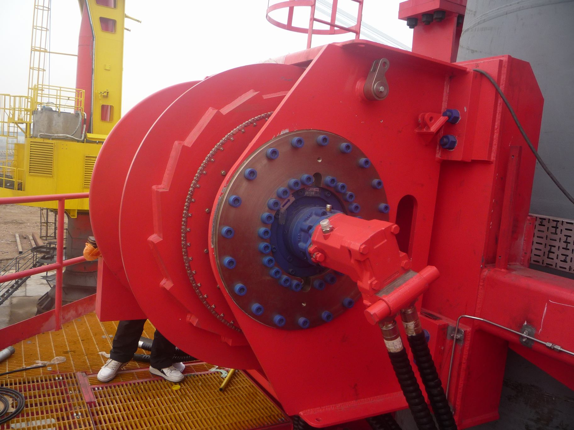 electric windlass anchor winch