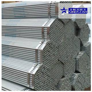 Hot dipped galvanized hollow sections