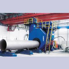 China Pipe Shot Blasting Machines/Steel Pipe Cleaning Out And In Blasting Equipment/Production Line