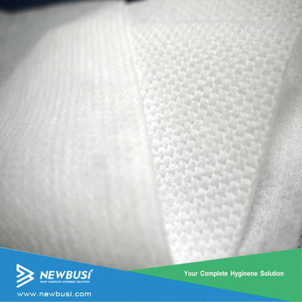 hydrophilic hot air-through perforated Nonwoven Fabric topsheet