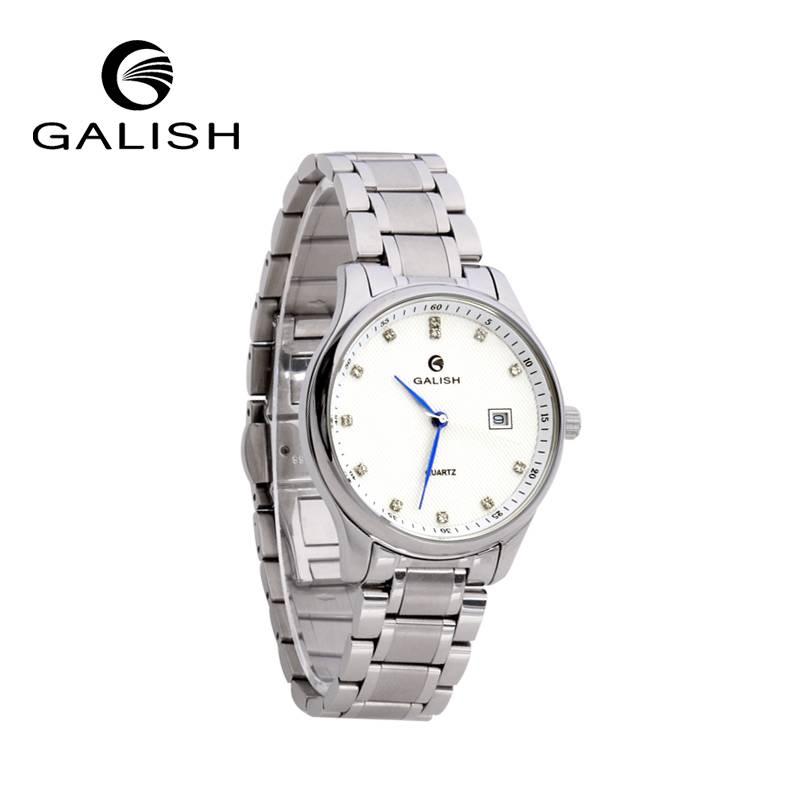 all steel quartz watch OEM watch for ladies