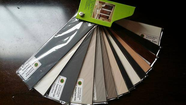 High-Glossy Basswood Blinds Slats