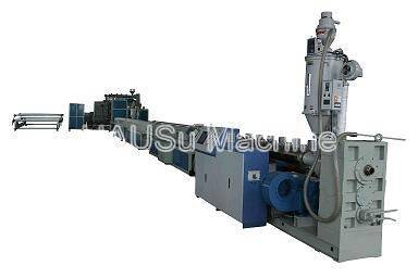Plastic Pipe Extrusion Line_PE Huge Calibre Hollowness Wall Spiral Pipe Extrusion Production Line