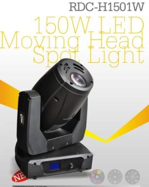 NEW! 150W LED Moving Head Spot Light with 16CH
