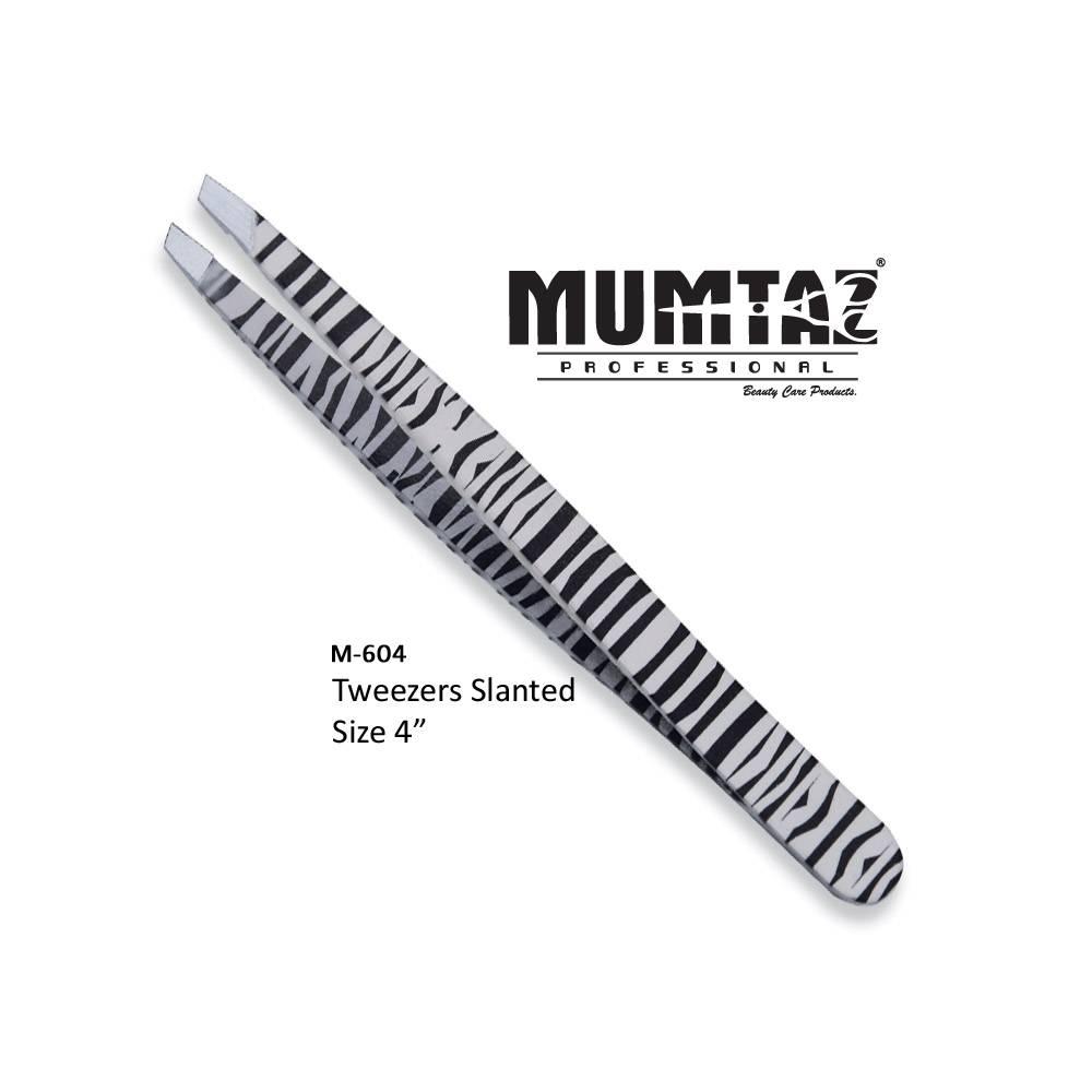 Tweezers Slanted Zebra