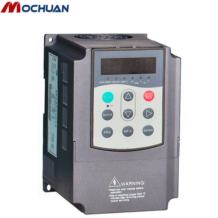 50hz 60hz 5kw vfd single phase to 3 phase inverter vfd, vsd, ac drive