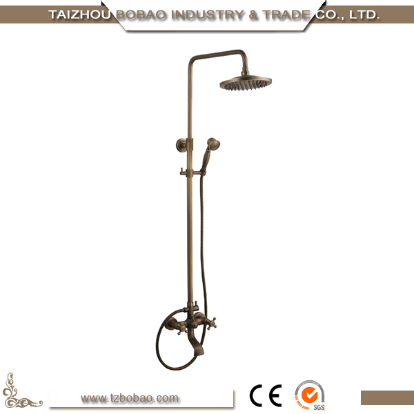 Best Price Golden Bathtub Faucet Set Bath Shower Combination Tap