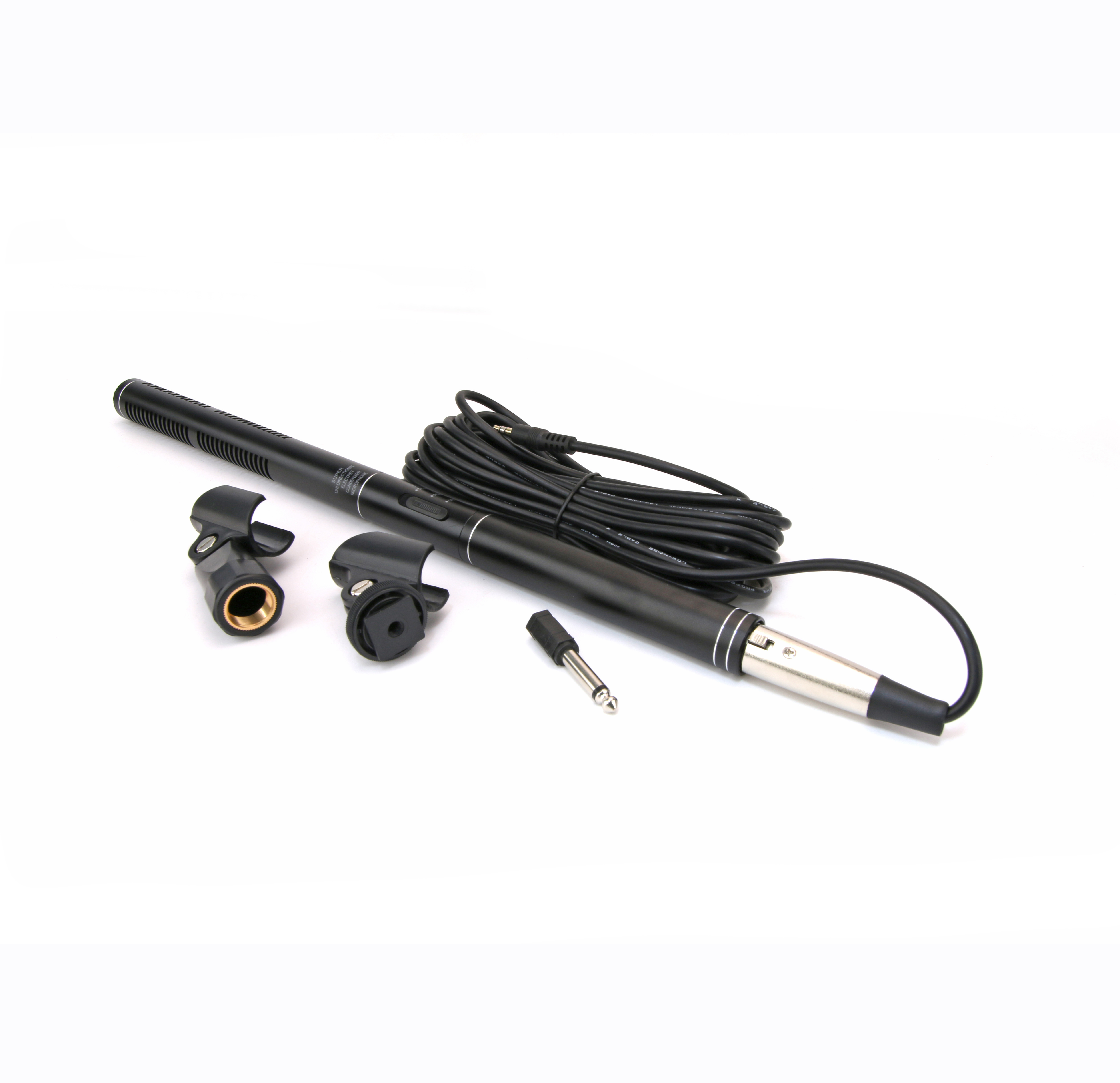 Professional System handheld recording Interview Microphone with Sponge Cover