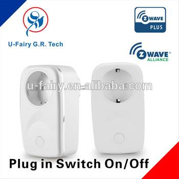z-wave smart plug and socket