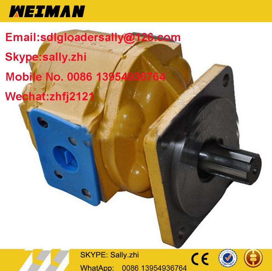 original 50C hydrauli steering pump, 11C0009, 11C0009P01, 11C0009P02  in yellow colour for liugong w