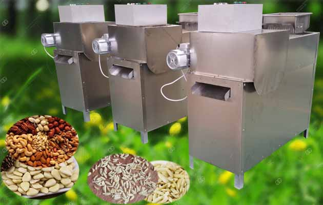 Peanut|Almond|Cashew|Nuts Strip Cutting Machine