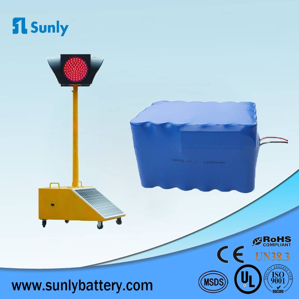 high quality 18650 battery 12v 16000mah lithium ion battery pack for led lights