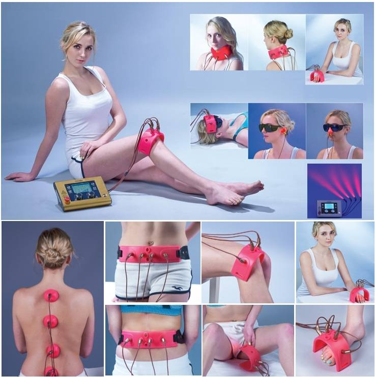 Laser therapy device.