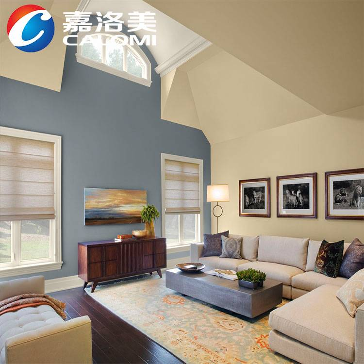 Calomi scrub resistance, soft colors waterbased standard emulsion paints