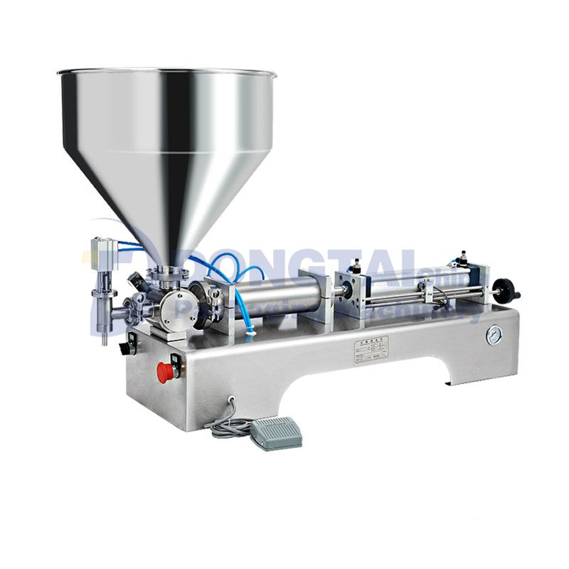 Semi automatic chilli / hot / tomato / chili sauce filling machine for paste