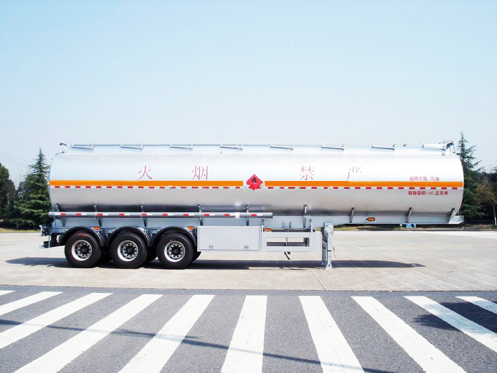 Aluminum Tank Trailer  36000L to 42000L+ 6% expansion