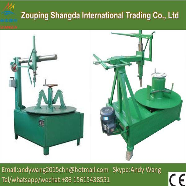 Waste tyre Bead Ring Cutter/Usde Tyre Recycling Line