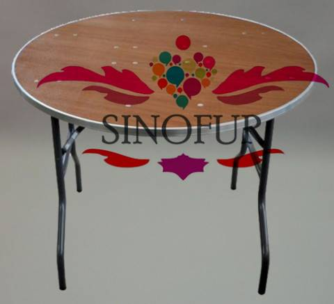 Wholesale plywood banquet folding table
