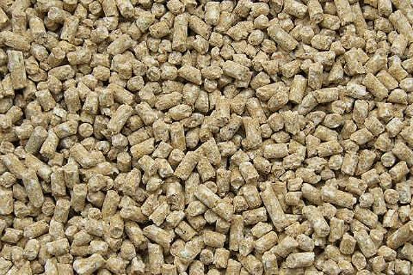 Wheat bran granulated