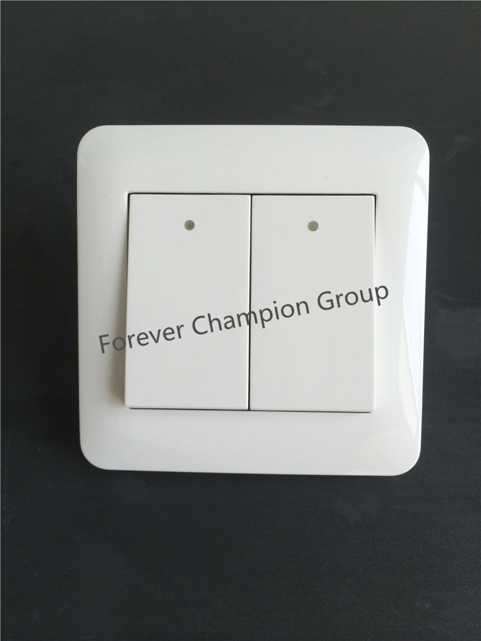 CNHUNG switch 2 gang 1 way wall switch