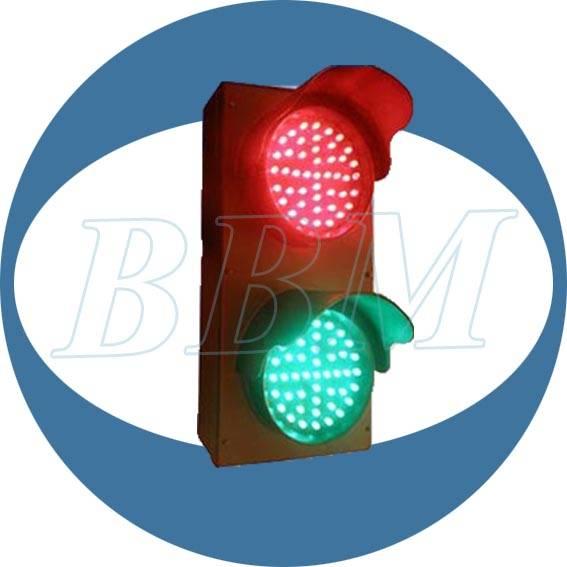 mini 100mm led ball traffic light hot sale