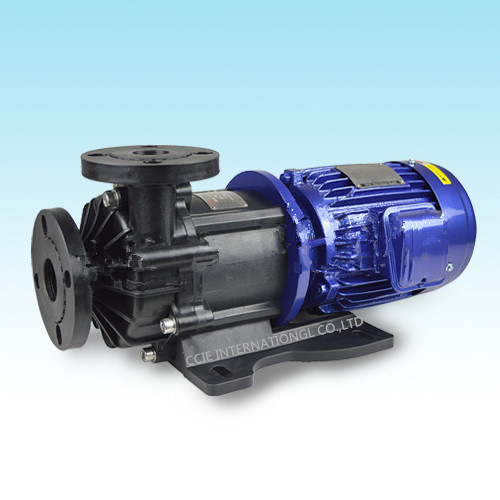 Seal -less magnetic drive pump for chemical water pump with can do dry run