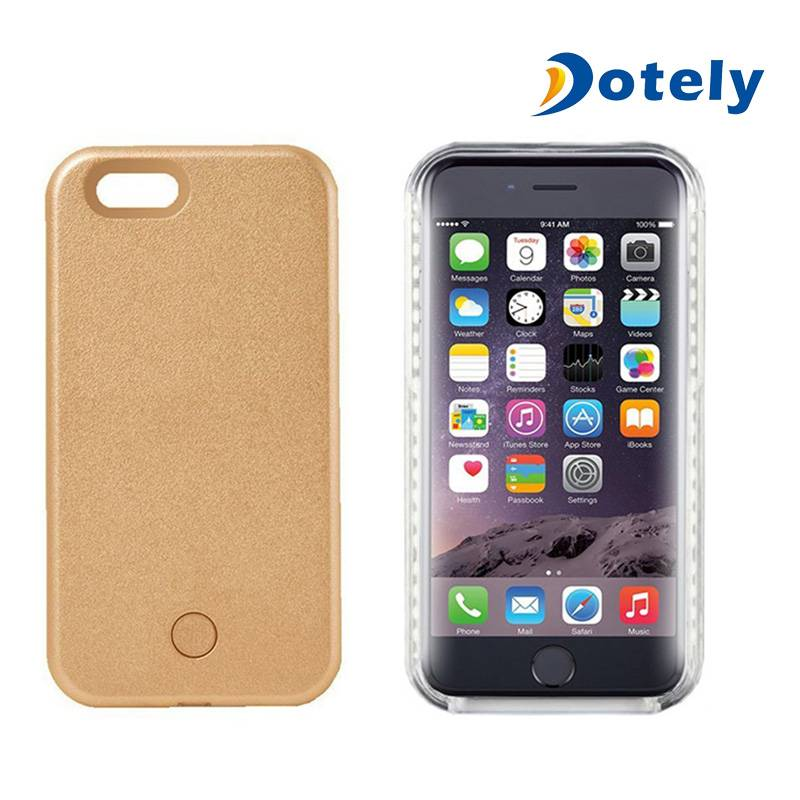 LED Lighted Illuminated Cell Phone Case for iPhone 6/6s