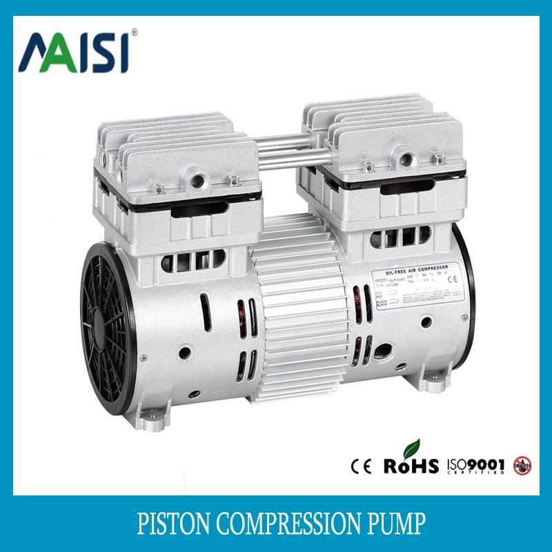220V/110v ac silent piston air compressor pump