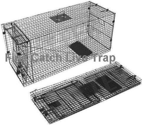 Folding Fox trap for Animal catcher